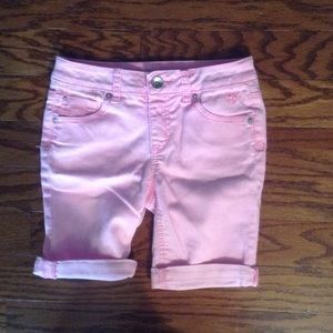 Kids Justice Light Oink Bermuda Shorts